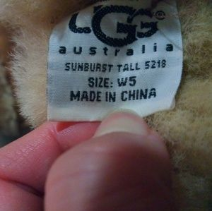 UGG Shoes - Ugg boots Sunburst Tall